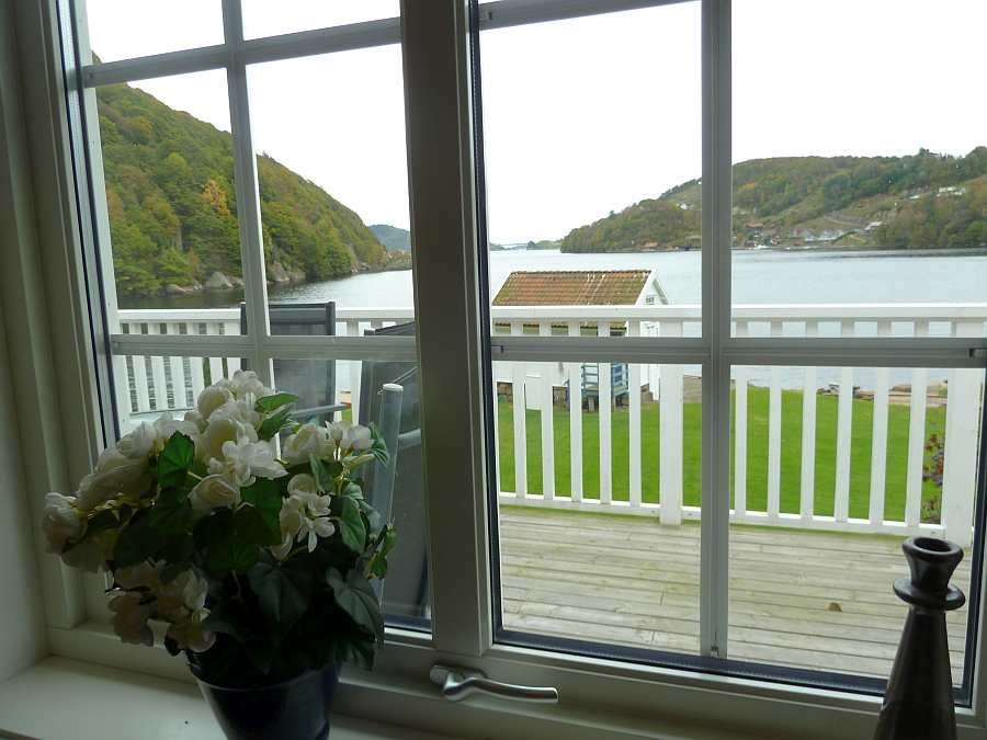 Blick aus einem der Wohnzimmerfenster