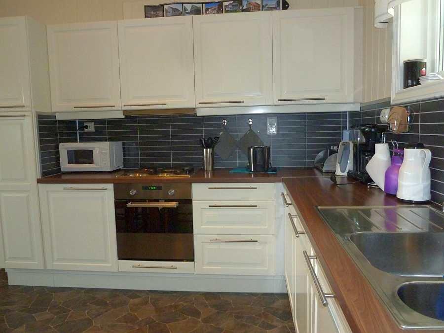 Von der Spülmaschine bis zum Toaster... hier in der Küche ist alles vorhanden!