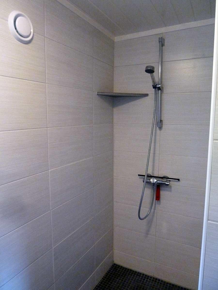 Die Dusche des Ferienhauses