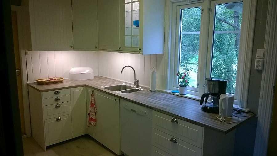 Die Küche des Ferienhauses Vika