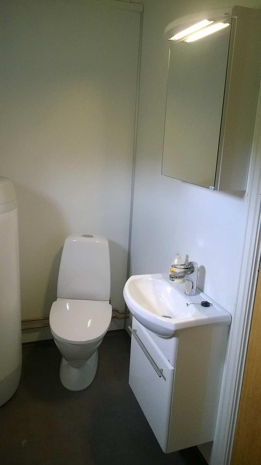 Das WC im Haus