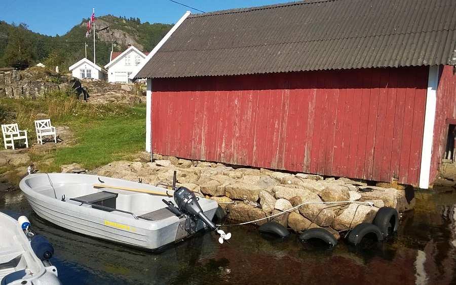 Bereits im Hauspreis enthalten - Angelboot Pioner 15 Fuß/9,9 PS, 4-Takter