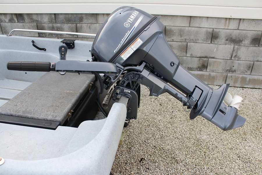 Zuverlässig und robust - Yamaha 4-Takter Aussenbordmotor