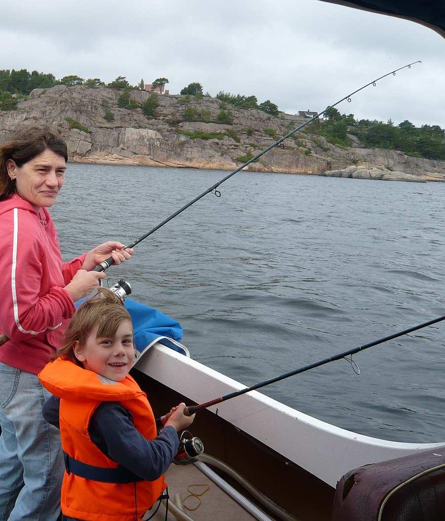 Schärenküste bei Farsund - geeignet für große und kleine Angler