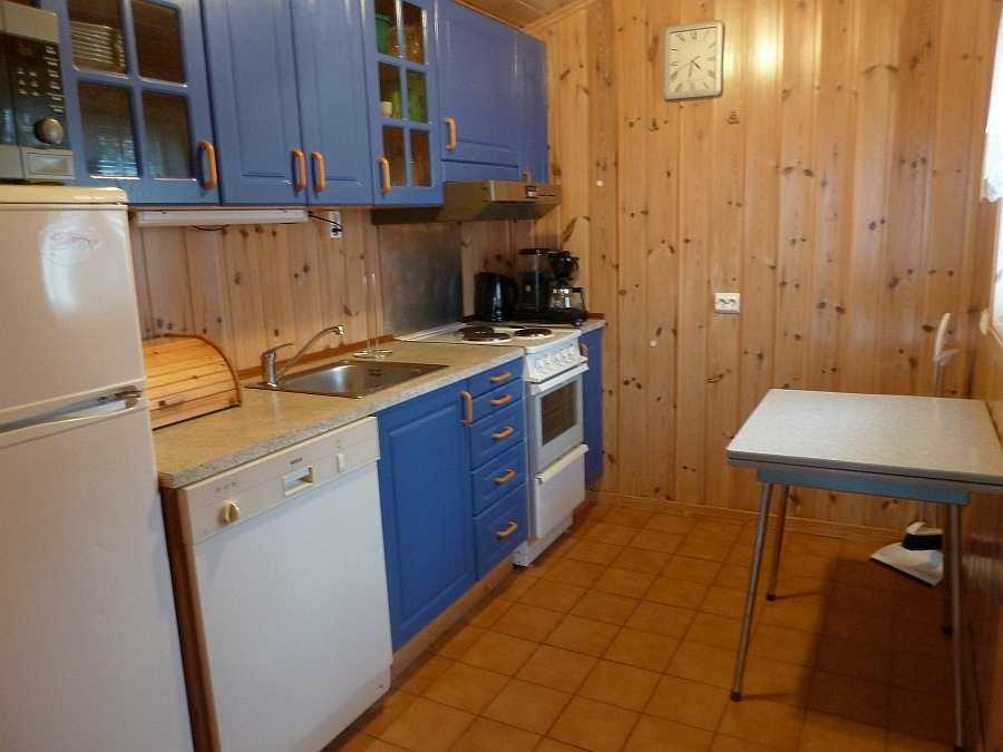 Die Küche der Haushälfte Westersiden No.8