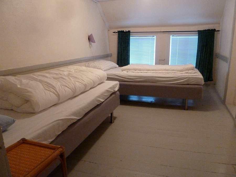 Haushälfte Westersiden No.9: Schlafzimmer mit 2 Einzelbetten