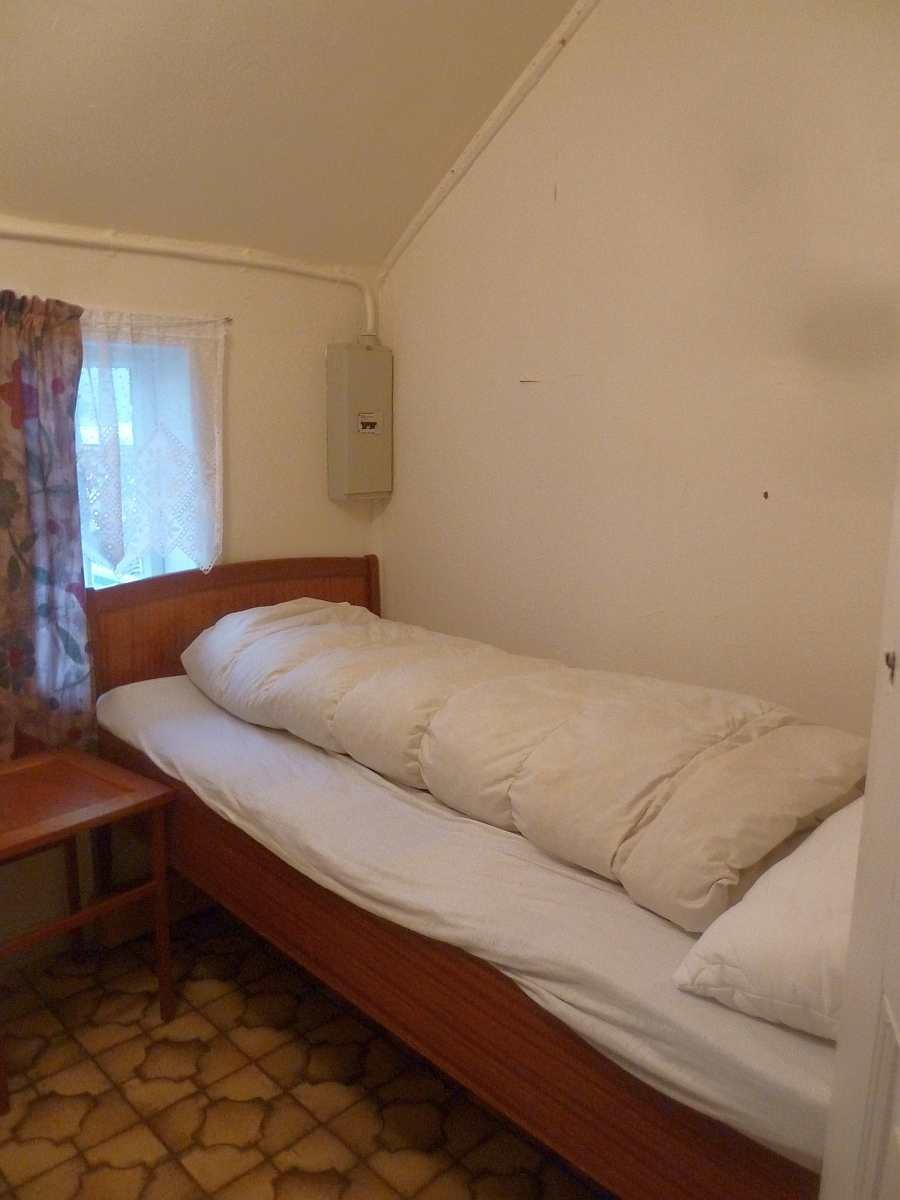 Haushälfte Westersiden No.9: Das zweite der beiden Schlafzimmer mit je 1 Einzelbett