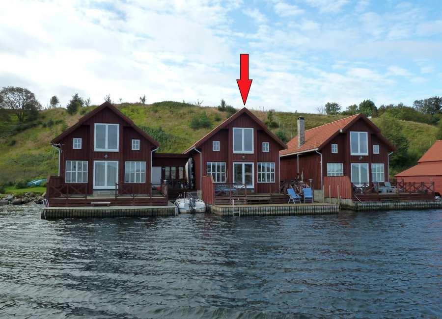 Seehaus Remme - Traumlage direkt am Ufer des Fjordes