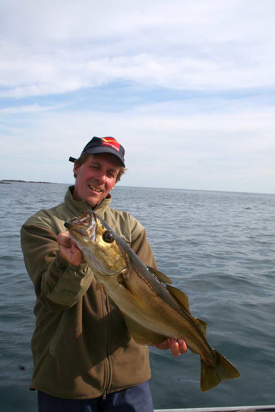Um die Inseln lebt der Pollack - einer der wichtigsten Zielfische hier