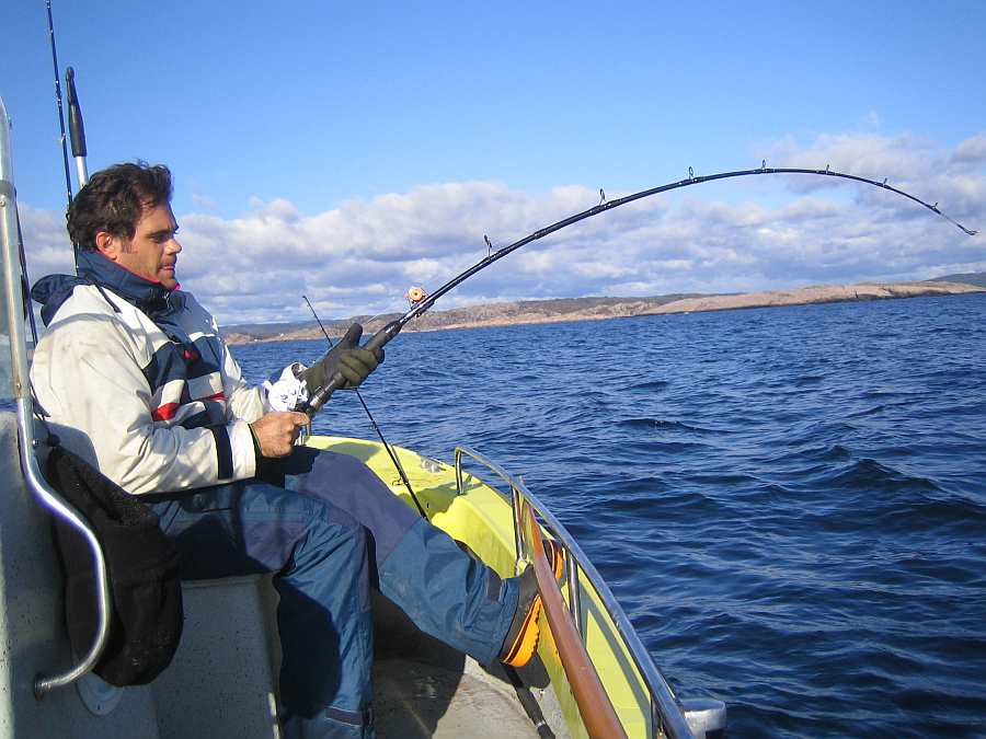 Hier lässt es sich gut Naturköderfischen auf Leng und Lumb