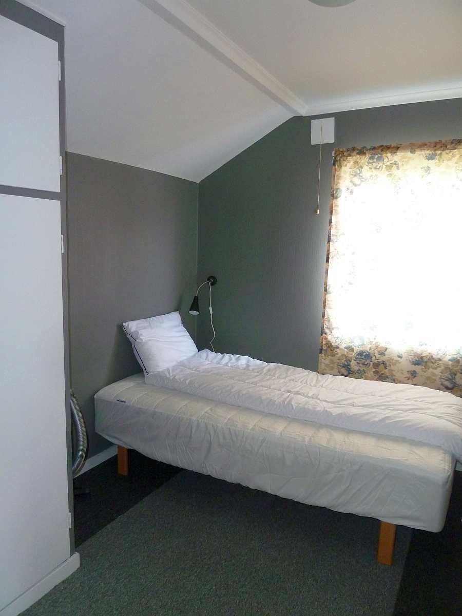 Schlafraum mit einem Einzelbett