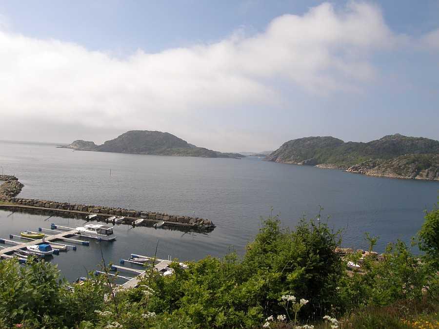 Vom Bootshafen aus hat man mit dem Boot die ersten anglerischen Hot-Spots bereits nach nur wenigen Minuten erreicht
