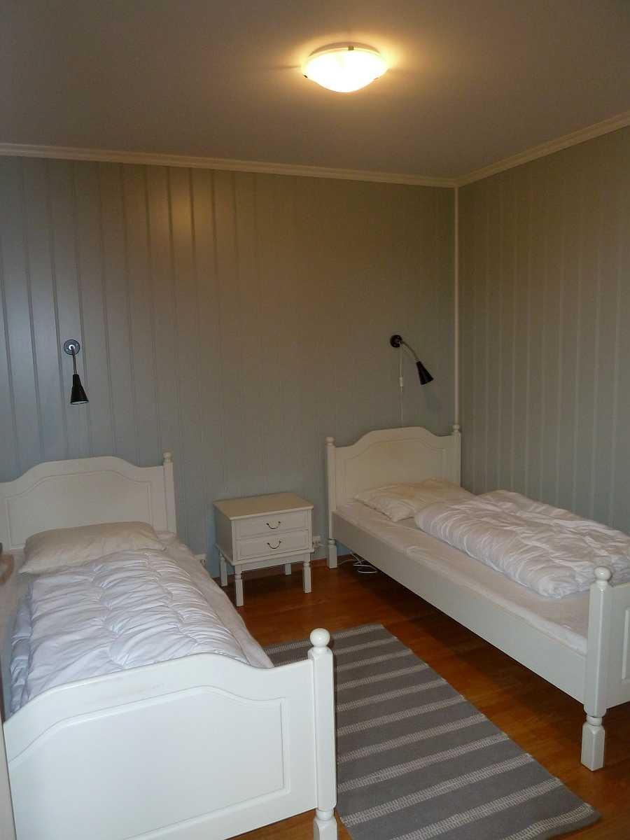 Ein weiteres Schlafzimmer mit 2 Einzelbetten