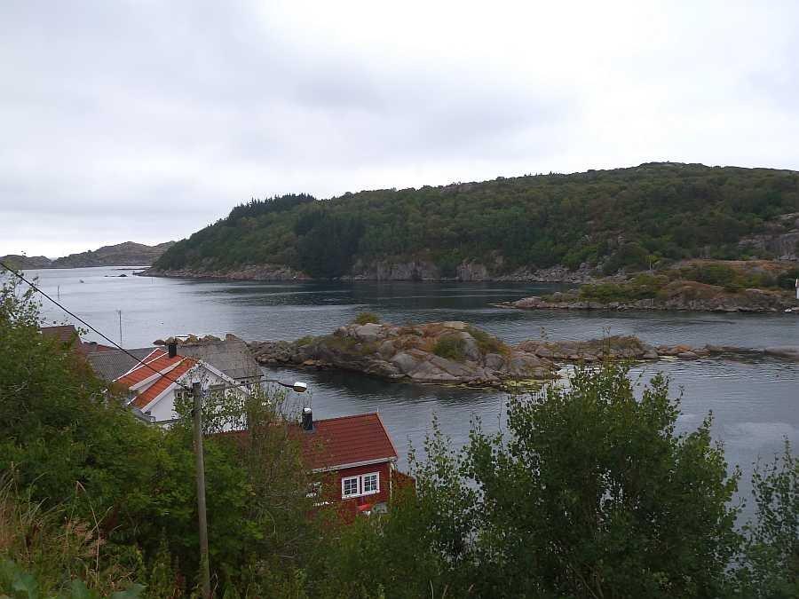 Blick von den Terrassen beider Wohnungen nach Süden