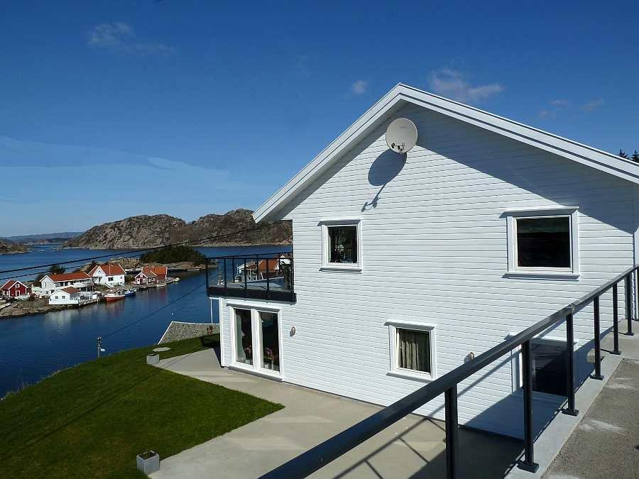 Das Ferienhaus Beate bietet zwei getrennte Wohnungen auf separaten Etagen mit jeweils eigenem Eingang