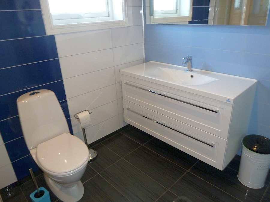 Das Waschbecken im Bad in der Wohnung Beate-1-Obergeschoß