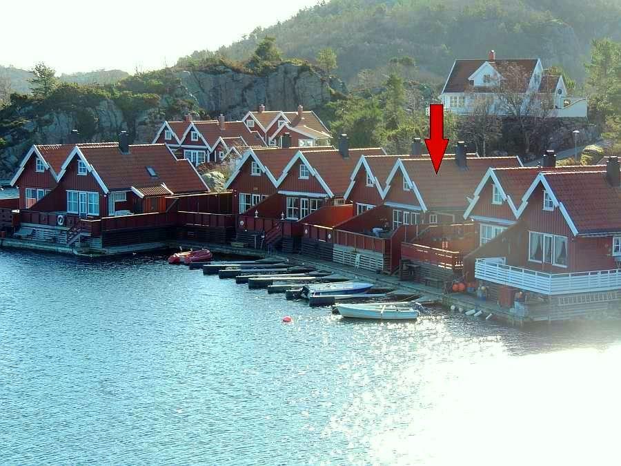 Um dieses Haus handelt es sich bei unserem Seehaus Børufsodden.