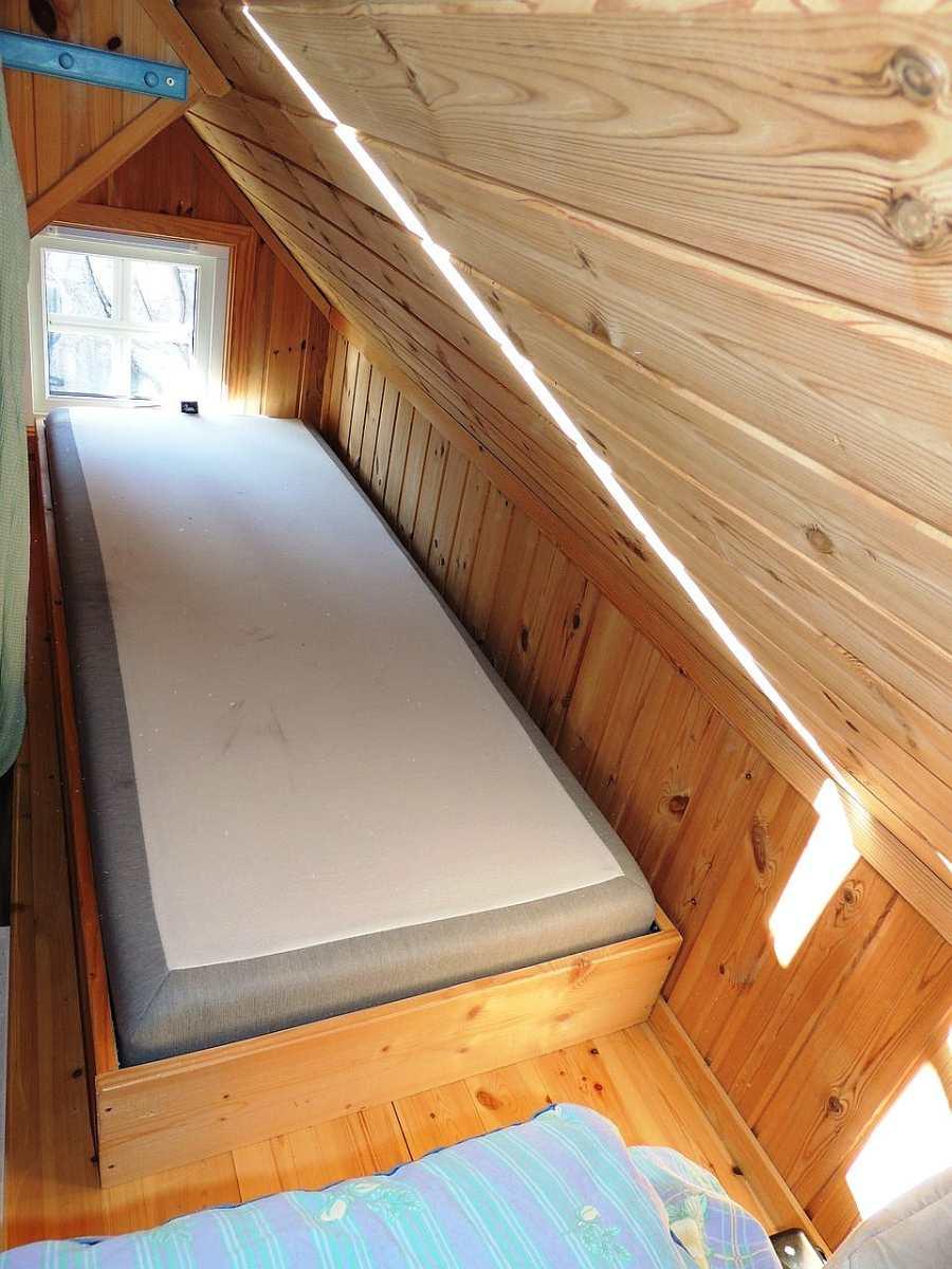 Das 2. Schlafzimmer mit 2 Einzelbetten (hier das 2. Bett im Bild).