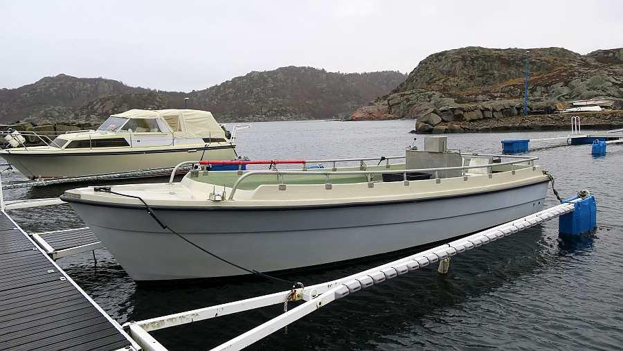 Der eigene Bootsliegeplatz für Ihr Dieselboot im Bootshafen von Korshamn