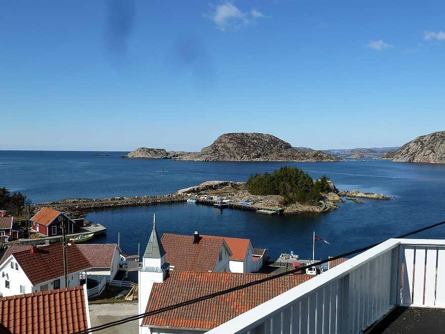 Blick von der Terrasse nach Süden