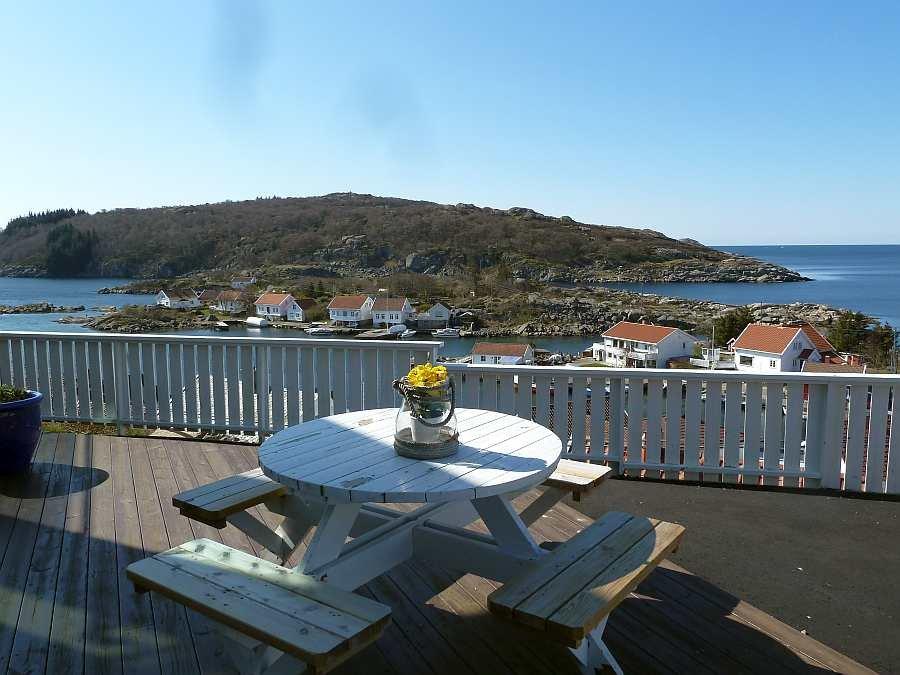 Blick von der Terrasse nach Süd-Osten