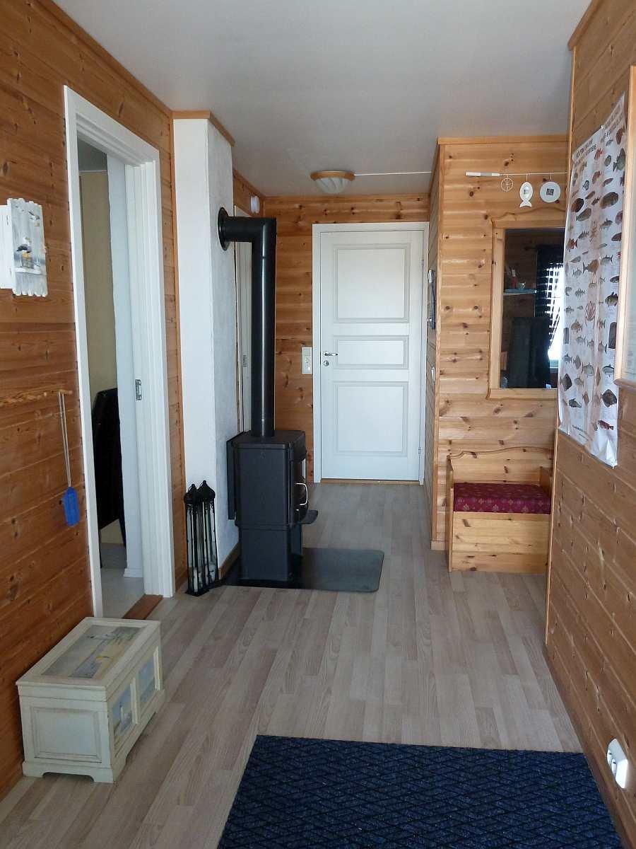 Der Eingangsbereich der Ferienwohnung