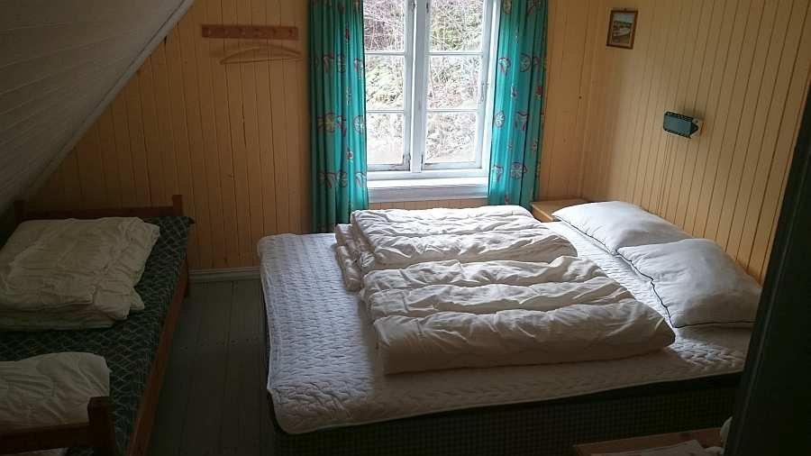 Eines der drei Schlafzimmer