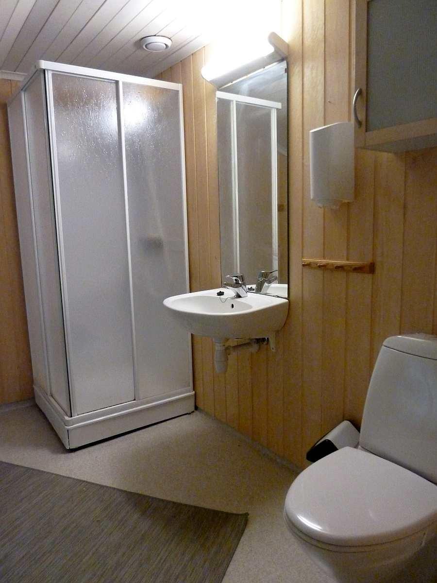 Das Badezimmer des Hauses