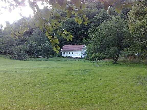 Das Ferienhaus liegt auf einem eigenen großen Gartengrundstück