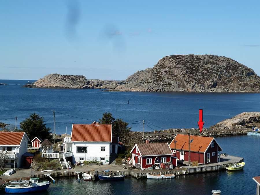 Das Ferienhaus Fiskehytter Holmen ist genau das Richtige für die kleine Anglergruppe oder eine Familie mit Bezug zum Meer und Fischen.