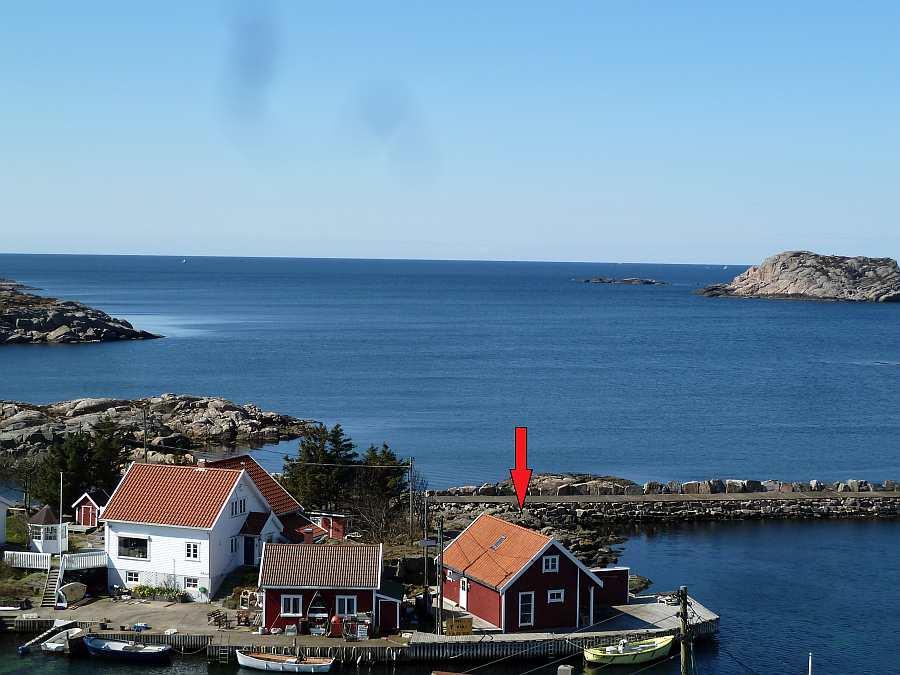 Fiskehytter Holmen - die Perfekte Ausgangsposition zum Fischen > von hier aus ist man in wenigen Minuten auf dem offenen Meer