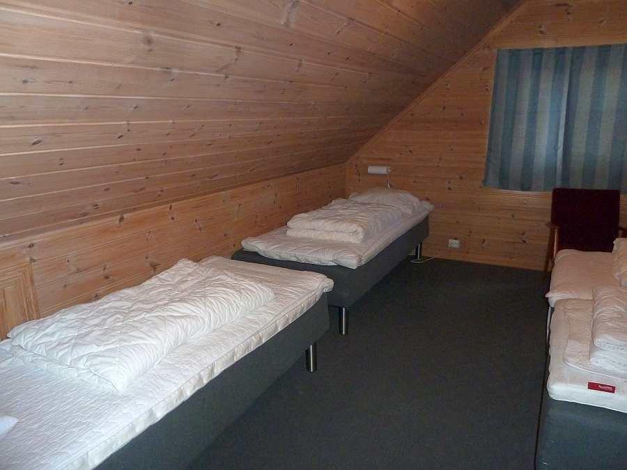 Die weiteren zwei Betten in diesem Schlafzimmer