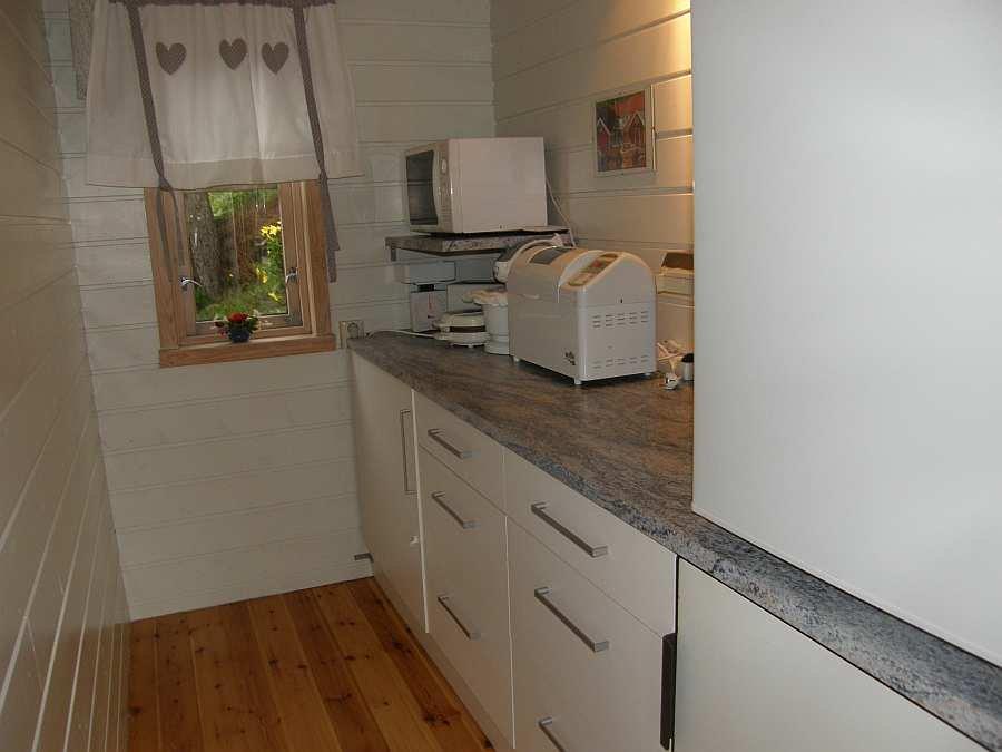 Separater Küchenbereich - komplett ausgestattet
