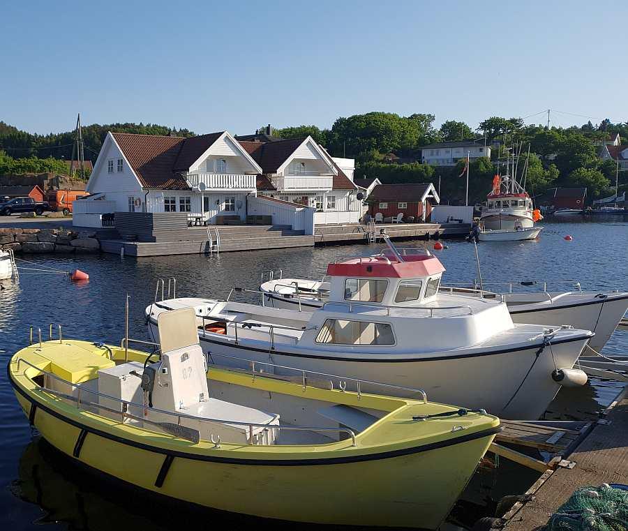 Blick auf Haus Åvik