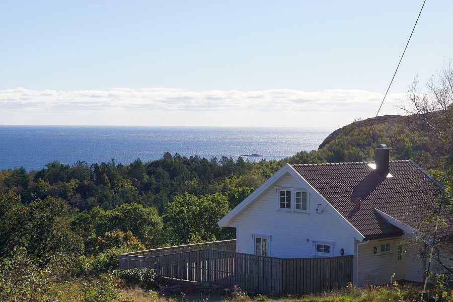 Ferienhaus Høiland - herrlicher Blick auf die Küste von Kap Lindesnes