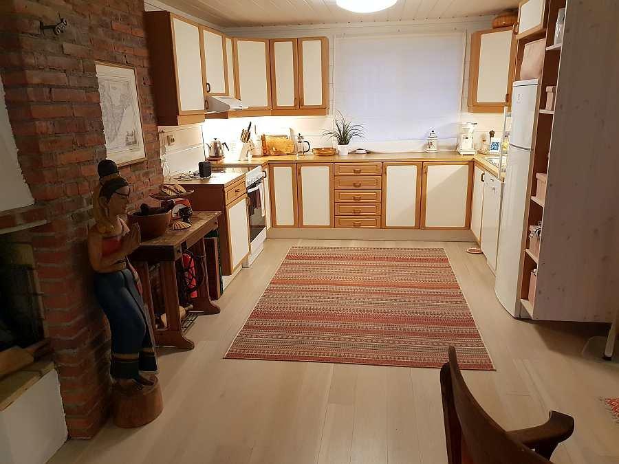 Blick in die offene Studioküche