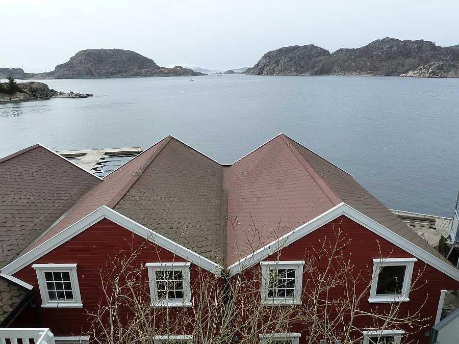 Ferienwohnung Korshamn liegt direkt am Wasser