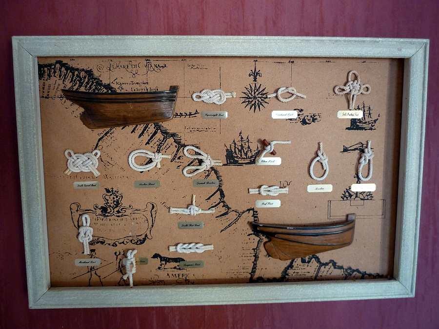 Viele maritime Details zieren das Ferienhaus