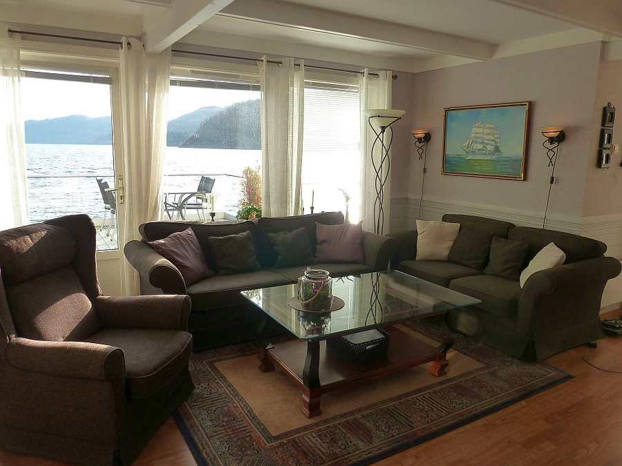 Der Sitzbereich des Wohnraumes