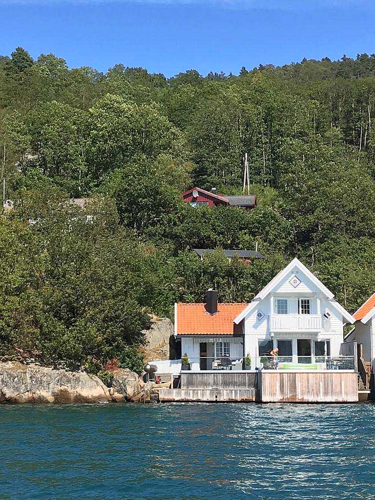 Ferienhaus Ladberget - genau so möchte man in Norwegen in seinem Urlaub doch wohnen!?
