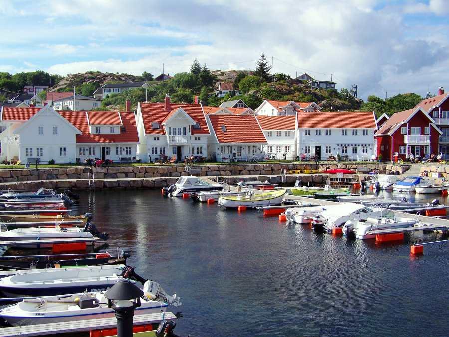 Der kleine Hafen Lillehavn am Kap Lindesnes mit seinem unvergleichlichen Charme.