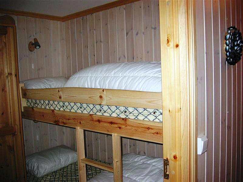 Typ 1 - Beispielbild - Schlafzimmer mit Etagenbett