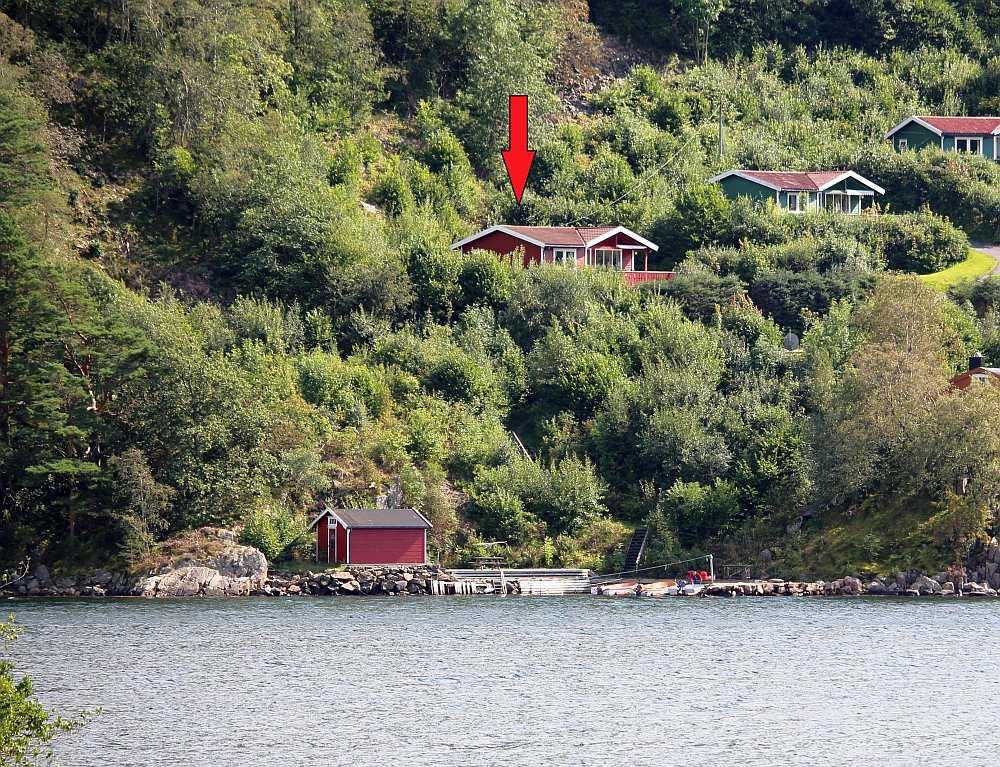 Ferienhaus Lindal - top Lage am wunderschönen Grønnsfjord