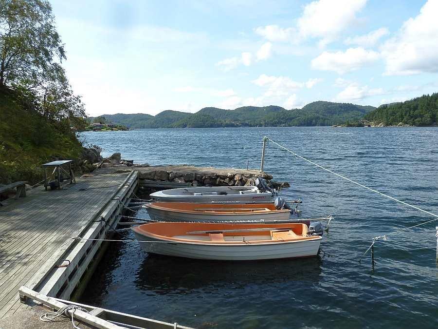 Hier wird Ihr Angelboot liegen