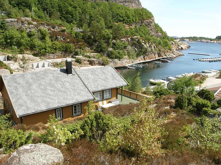 Ferienhaus Lussevika - tolle Lage am Wasser