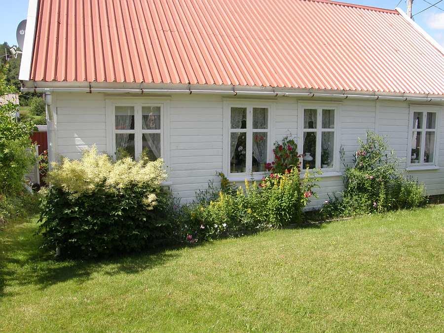 Ferienhaus Øverstranda - ein typisches Südnorwegenhaus - bietet Platz für bis zu 4 Personen