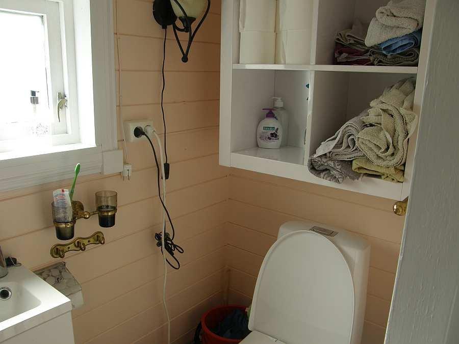 ..und Waschbecken, WC