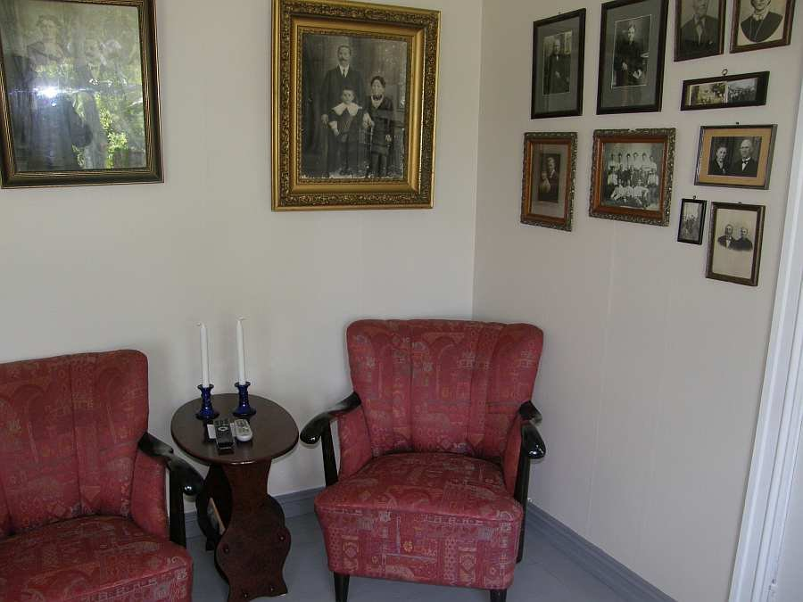 Haus Øverstranda schaut auf eine lange Geschichte zurück