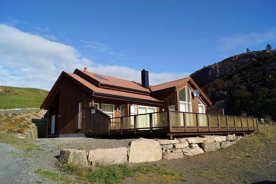 Ferienhaus Ramsland auf der Halbinsel Lindesnes - viel Platz für bis zu 8 Personen