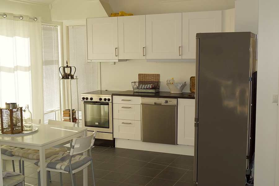 Die Studioküche des Hauses